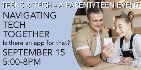 NAVIGATING TECH TOGETHER: Is there an App for that?tickets