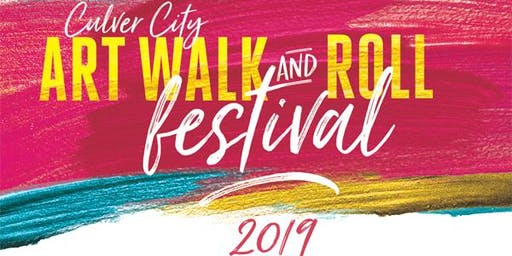 CULVER CITY ART WALK AND ROLL FESTIVAL