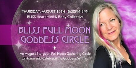 Bliss Full Moon Goddess Circle tickets