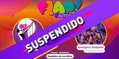 Autocine #EnModoFLAP entradas