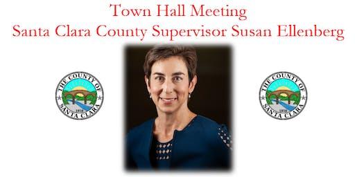 Santa Clara County Supervisor Susan Ellenberg Town Hall