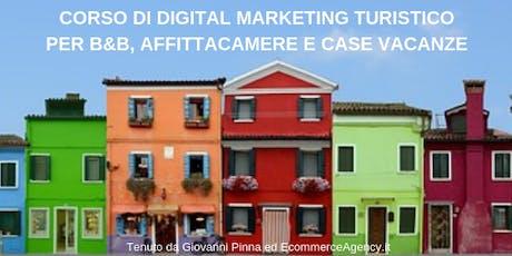 Corso Digital Marketing Turistico Extra-Alberghiero ad Alghero in Sardegna biglietti