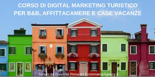 Corso di Digital Marketing Turistico Extra-alberghiero (Alghero)