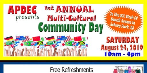 1st Annual Multi-Cultural Community Day 2019