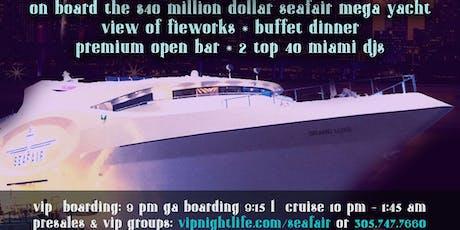 Miami NYE Fireworks - Beyond the Sea 2020 tickets