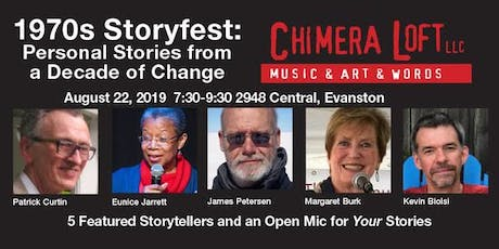 1970s Storyfest: Personal Stories from a Decade of Change tickets