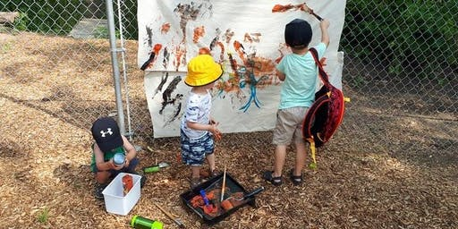 Messy Hands Camp for 2-4 yr olds Tuesday, July 30th