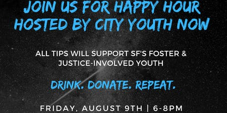 Happy Hour Hosted by City Youth Now tickets