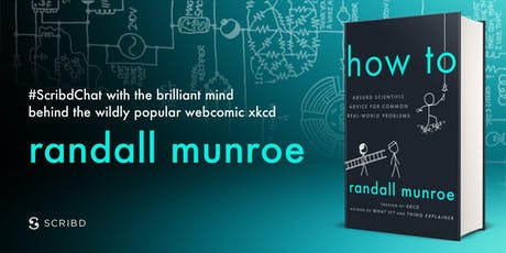 #ScribdChat with xkcd creator Randall Munroe tickets