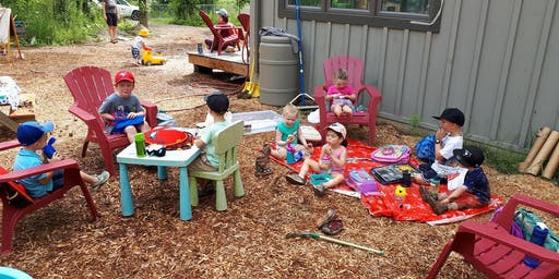 Messy Hands Camp for 2-4 yr olds Wednesday, July 31st