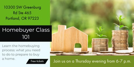 Free- Homebuyer Class tickets