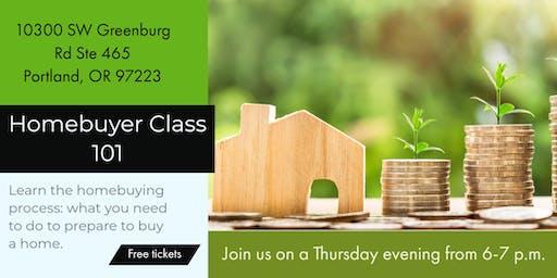 Free- Homebuyer Class