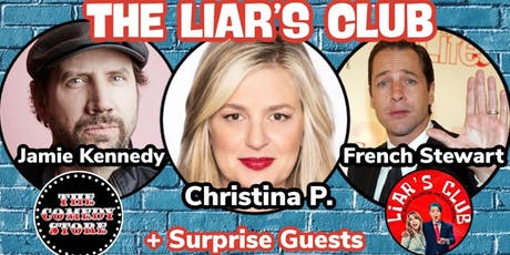 The Liar's Club w/Christina P, Jamie Kennedy, French Stewart and more tickets