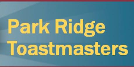 Park Ridge Toastmasters Club #381 Meeting tickets