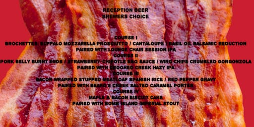 Beer Dinner: The Bacon Edition