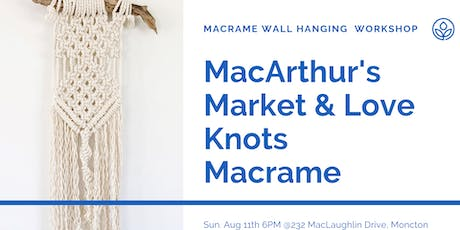 MacArthur's Macrame Wall Hanging Workshop tickets