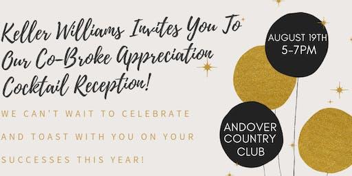 Keller Williams Co-Broke Appreciation Cocktail Reception