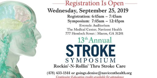 Navicent Health's 13th Annual Stroke Symposium