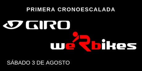 Rodada Giro-weRbikes  entradas
