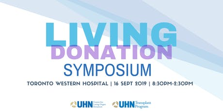 Annual Living Donation Symposium tickets
