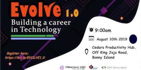 Evolve 1.0 tickets