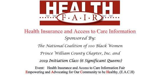 Health Insurance & Access to Care Health Fair