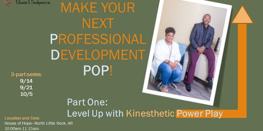 Make Your Professional Development POP! Part One