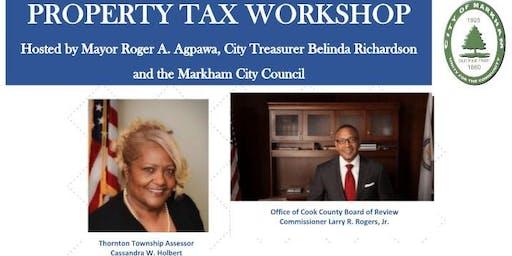 THORNTON TOWNSHIP ASSESSOR'S PROPERTY TAX WORKSHOP