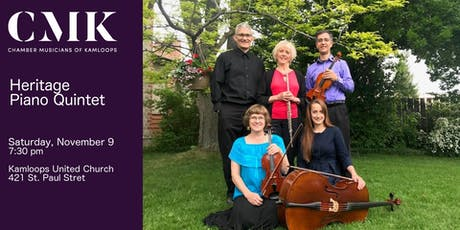 Heritage Piano Quintet tickets