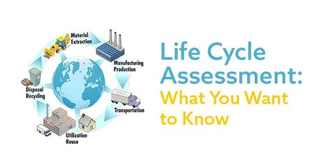 Life Cycle Assessment: What You Want to Know tickets