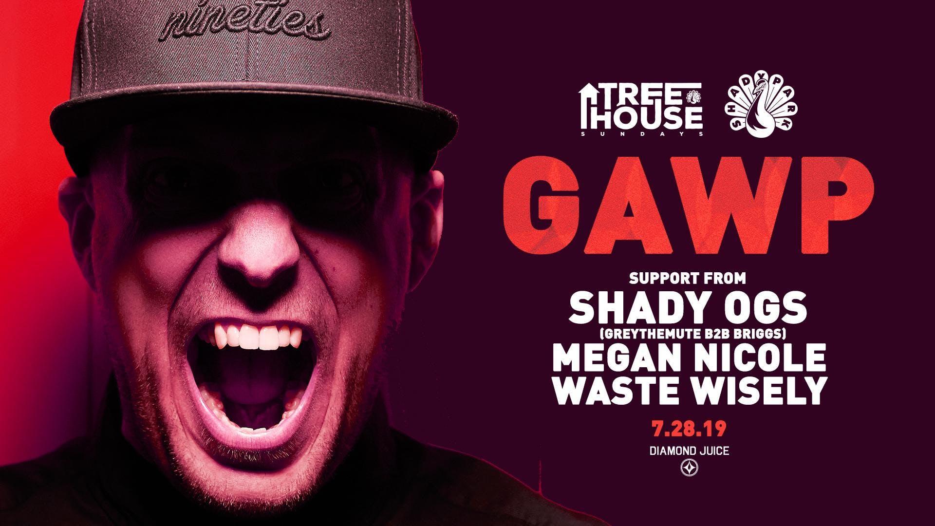 GAWP at Shady Park: TreeHouse