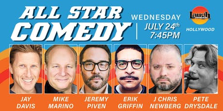 Jeremy Piven, Erik Griffin and more - All-Star Comedy! tickets