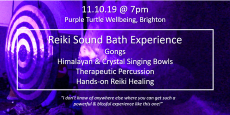 FULL MOON REIKI SOUND BATH - BRIGHTON tickets