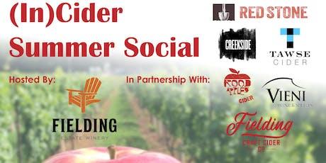 (In)Cider Summer Social tickets