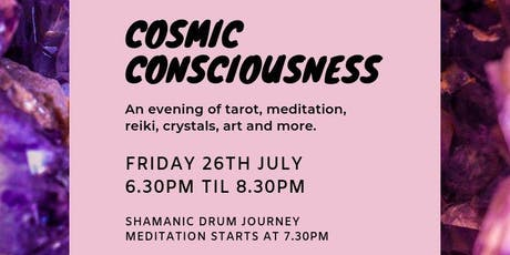 Cosmic Consciousness - Shamanic Drum Journey to your Power Animal tickets