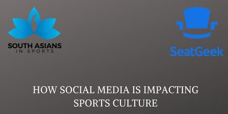 How Social Media Is Impacting Sports Culture tickets