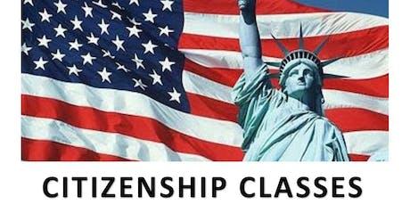 Citizenship Classes tickets
