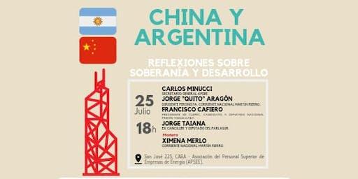 China y Argentina. Reflexiones sobre desarrollo. Conferencia.