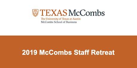 2019 McCombs Staff Retreat tickets