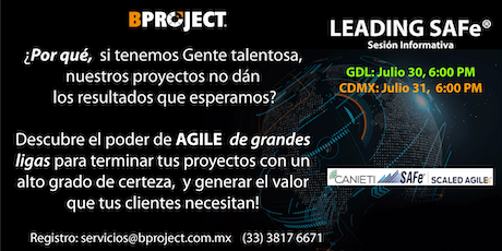 Leading SAFe by BPROJECT Consultoria entradas