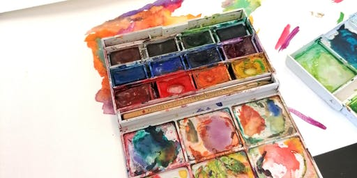 Watercolour Wednesdays: Wild Summer Days for Adults