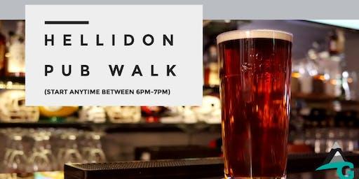 SELF GUIDED - HELLIDON PUB WALK | 4 MILES | NORTHANTS