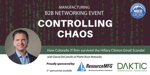 Networking Night - Controlling Chaos with David DeCamillis