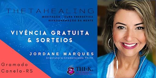 VIVÊNCIA GRATUITA THETAHEALING  -  Gramado/RS - SETEMBRO