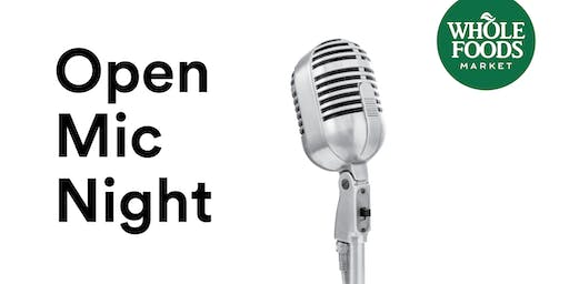 Whole Foods Market Waverly- Open Mic Night