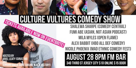 Culture Vultures Comedy Show tickets