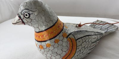 Papier-mâché Sculpture-make your own bird or animal and then finish it with coloured tissues.