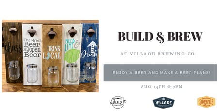 Build and Brew with Nailed It DIY Studio tickets