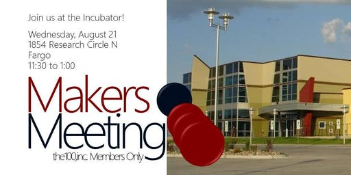 Makers Meeting 2 | the100,inc. Members Only