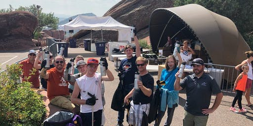 The Arc ADventures in Leadership Red Rocks Clean Up